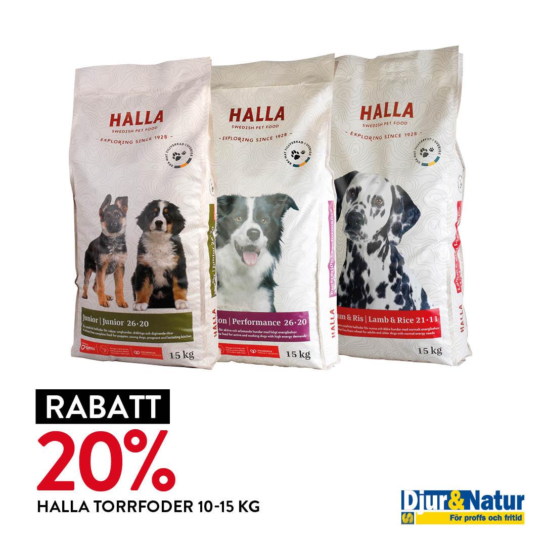 Nedsatt torrfoder för hundar